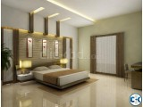 Bed room interior decoration