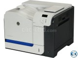 HP M551n Heavy duty fast laser color printer