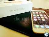 Iphone 6s plus gold 64 gb factory unlock New