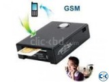 X005 GSM Two-Way Audio Sim Card Spy Ear bug with GPS Trake
