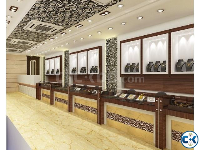 Jewellery Showroom Interior Design Clickbd