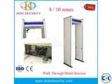Large LCD Screen Walk Through Metal Detector JKDM-800A