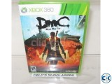 Xbox 360 game - Devil May Cry original