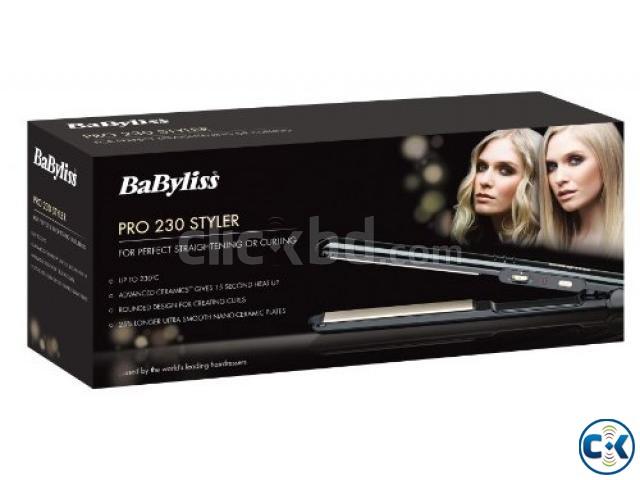 hair straightener babyliss 230 pro styler uk clickbd. Black Bedroom Furniture Sets. Home Design Ideas