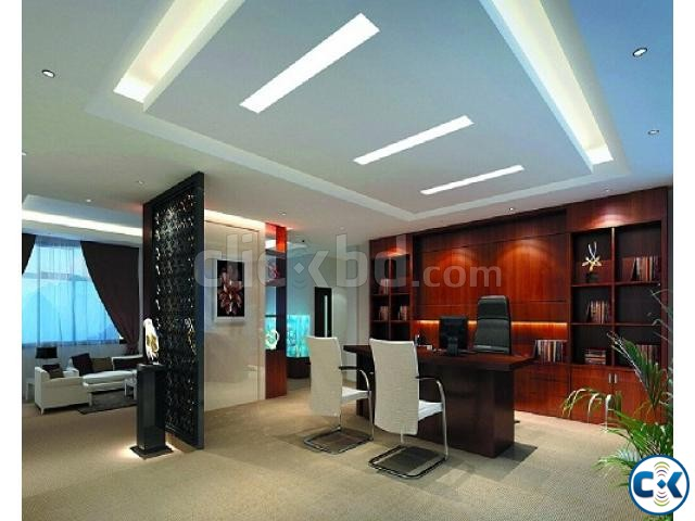 Office cabin interior decoration clickbd for Interior designs for office cabin