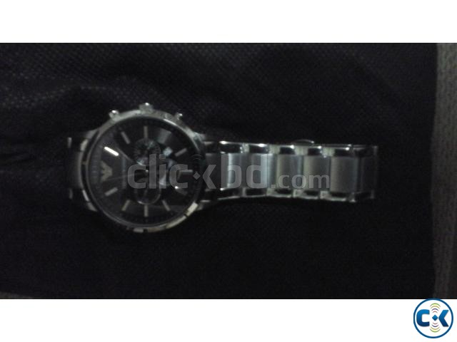 Emporio Armani AR 2434 Stainless Steel Analog Watch | ClickBD large image 0