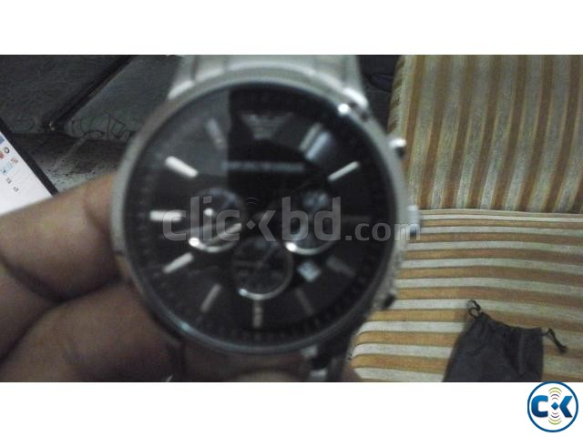 Emporio Armani AR 2434 Stainless Steel Analog Watch | ClickBD large image 4