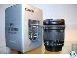 Canon 10-18mm STM Ultrawide Lens