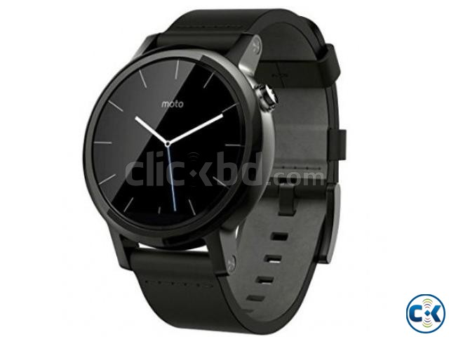 Brand New Moto 360 2nd Gen 46mm Lather See Inside  | ClickBD large image 0