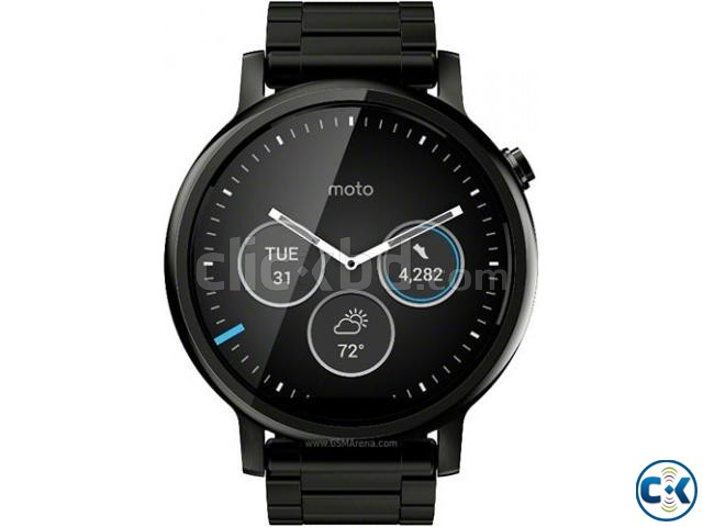 Brand New Moto 360 2nd Gen 46mm Lather See Inside  | ClickBD large image 1