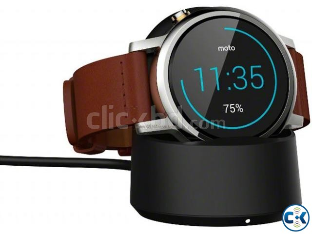 Brand New Moto 360 2nd Gen 46mm Lather See Inside  | ClickBD large image 2