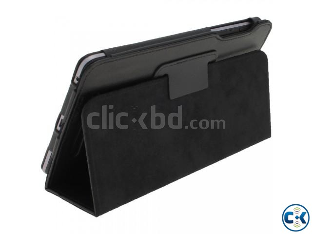 Black Leather Case for Google Nexus 7 Android 4.1 Tablet ...