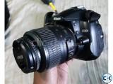 Nikon D5000 DSLR with 18-55lens bag brand new.