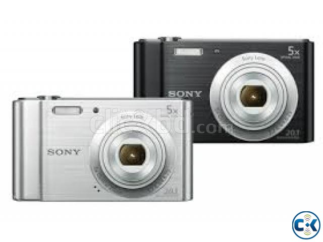 SONY W800 CYBER SHOT 5X ZOOM CAMERA | ClickBD large image 0