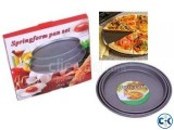 Hi-Quality Non-Stick Pizza Pan 3pc Set.