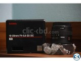 Sigma 10-20mm f 4-5.6 EX DC HSM Lens