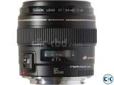 Canon 85mm f 1.8