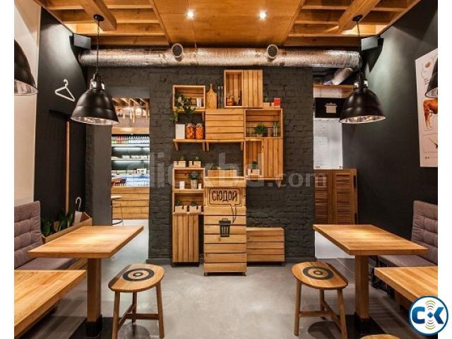 Small Fast Food Restaurant Interior Design Clickbd
