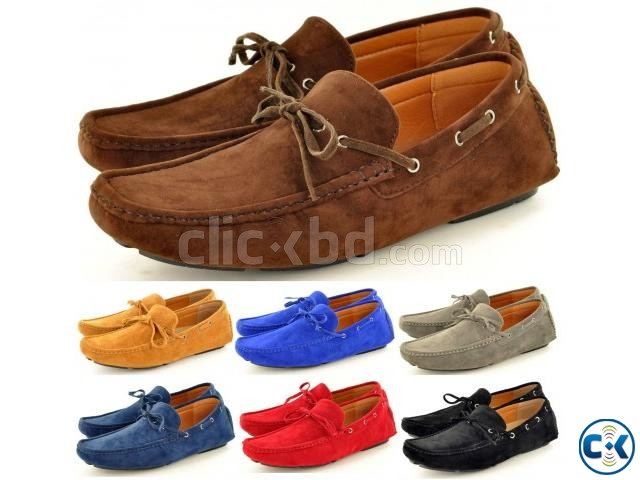 New Mens Faux Suede Casual Loafers Shoes tk 3 000 | ClickBD large image 0