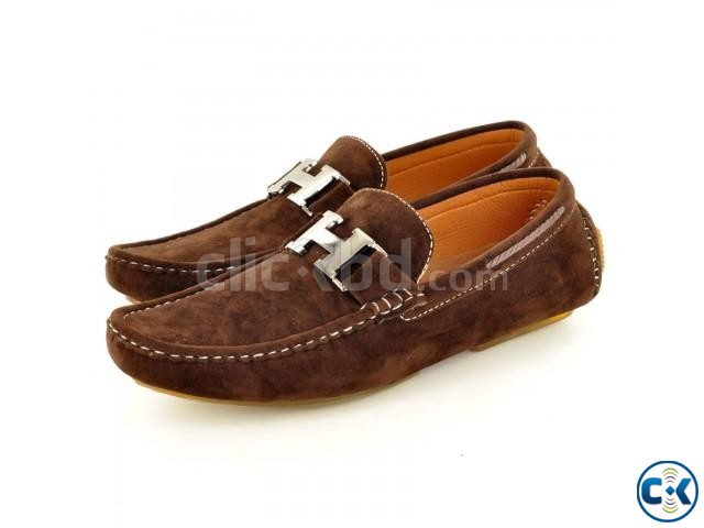 New Mens Faux Suede Casual Loafers Shoes tk 3 000 | ClickBD large image 1