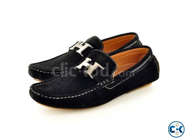 New Mens Faux Suede Casual Loafers Shoes tk 3 000 | ClickBD large image 2