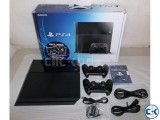 PlayStation 4 - Jet Black 500GB