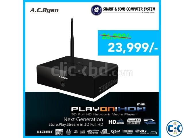 A.C Ryan-3D-PlayON HD3 mini FullHD MediaPlayer-Worlds No.1 | ClickBD large image 0