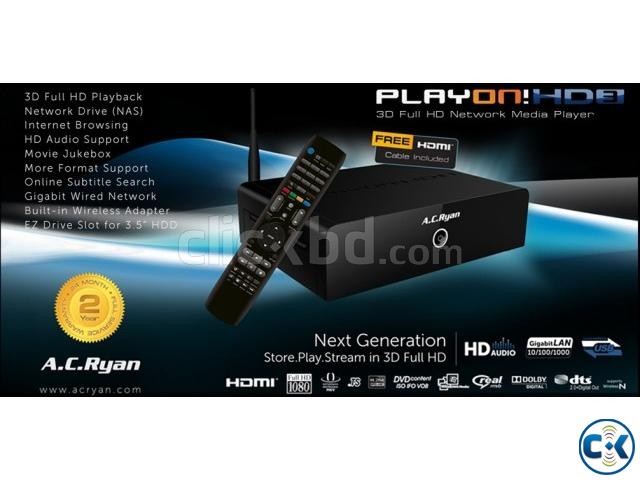 A.C Ryan-3D-PlayON HD3 mini FullHD MediaPlayer-Worlds No.1 | ClickBD large image 3