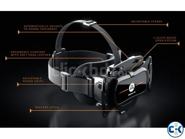 Freefly VR Mobile Virtual Reality Headset | ClickBD large image 1