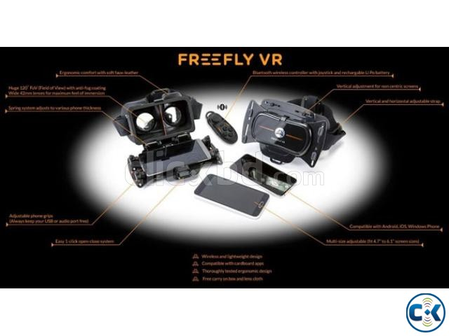 Freefly VR Mobile Virtual Reality Headset | ClickBD large image 4
