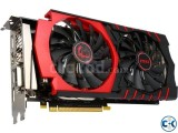 MSI Geforce GTX 960 Graphics Card 2GB DDR5 Nvidia Chipset