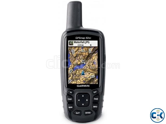 Handheld GPS Garmin 64sc | ClickBD large image 0