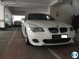 BMW 2010 White Color for Rent
