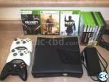 X box 360 slim 20 GB JTAG modded free games controllers