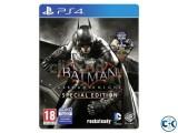 PS4 GAMES FOR SALE - BATMAN ARKHAM KNIGHT MKX FIFA 15
