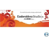 Wilcom Embroidery Studio e1.5 - on Windows 7 Windows 8.1