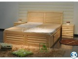 Shagun Wooden Bed