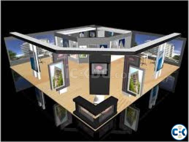 Exhibition Stall Price : Exhibition stall installation clickbd
