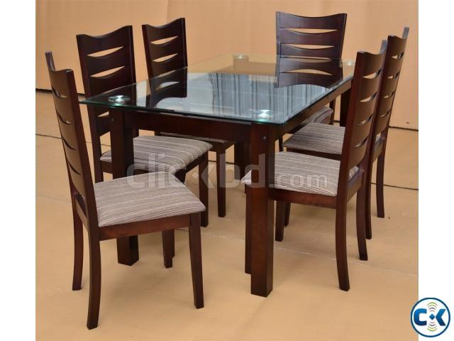 Shagun wooden dining table clickbd