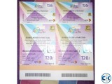Asia cup Bangladesh vs Pakistan Grand stand ticket