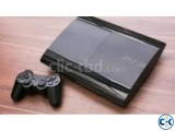 PS3 Superslim 250GB modded Metal Gear Solid 4 Disc.