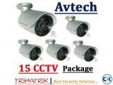 Avtech CCTV Camera With DVR 15
