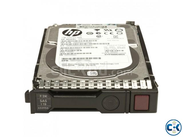 HP 2.5 SAS 1TB Hard drive in Unbelievable price | ClickBD large image 1