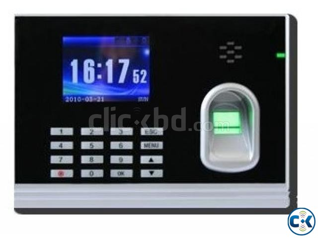 Finger card punch and password time attendance machine | ClickBD large image 0
