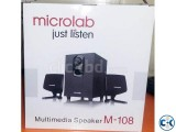 SPEAKER MICROLAB M-108 - 2 1