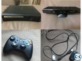 Xbox 360 with Kinect and Accessories