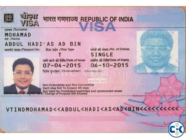 How To Apply For Indian Tourist Visa From Bangladesh