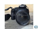 Canon EOS Kiss X4 with EF-S 18mm-55mm lens