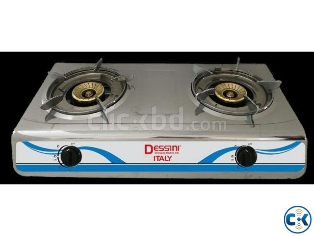 Brand New 2burner Auto Gas Stove From italy | ClickBD large image 0