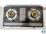 Brand New 2burner Auto Gas Stove-2 Italy
